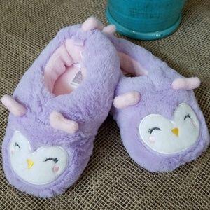 Carter's owl slippers